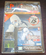 Jeu RAINBOW SIX LONE WOLF sous Blister Neuf sur Playstation 1 (PS1)