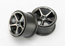 TRAXXAS 7172A Cerchi Gemini Black Chrome 1/16/WHEELS GEMINI BLACK CHROME TRAXXAS