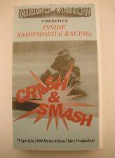 "Vintage Snowmobile ""Crash & Smash"" Video VHS"
