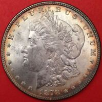 1878-P Morgan Silver Dollar - VAM-143 Doubled 8 - Very Choice BU W/ Nice Toning!