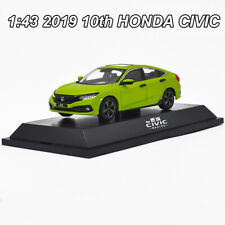 1:43 ORIGINAL 2019 10th Generation HONDA CIVIC Diecast Model Car Collection Toy