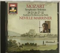 NEVILLE MARRINER : MOZART SYMPHONIIES : SINFONIEN 24:25:26::27:32 - [ CD ALBUM ]