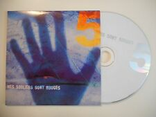 MES SOULIERS SONT ROUGES : SORTIS DU BOIS [ CD SINGLE ]