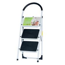 NEW EN131 Folding 3 Step Ladder Home Depot Lightweight 300 lb Capacity Anti-slip