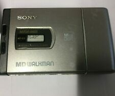 Sony Mega Bass Md Walkman Mz-E20 Mini Disc - Turns On As Is - Parts Only.!
