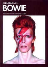 The Times Magazine David Bowie The Definitive Souvenir Guide NEW