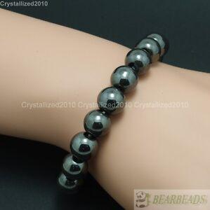 Handmade 8mm Mixed Natural Gemstone Round Beads Stretchy Bracelet Healing Reiki