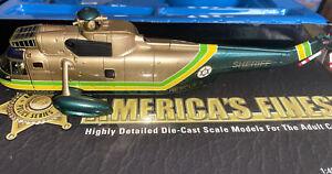 Corgi America's Finest Sikorsky Sea King 1:72 Scale-Retired -L.A Sheriff's Dept.