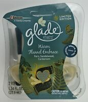 Glade Plugins Scented Oil Refills Warm Flannel Embrace Scent Refills Ltd Edition