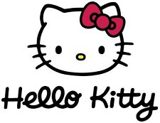 Hello Kitty Iron On Transfer For T-Shirt & Other Light Color Fabrics #4
