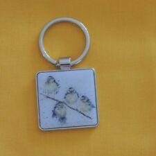 Meisen 1 x Schlüsselanhänger Wrendale Designs Hanging out mit friends Vögel bird