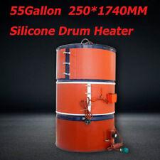 Adjustable Silicon Band Drum Heater Oil Biodiesel Metal Barrel 55 Gallon 220V