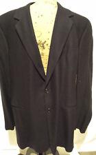 VESTIMENTA SPA 100% Cashmere Navy Blue Men's Suit Jacket Blazer US 40 41L Italy