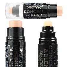 Technic Conceal & Blend Full Coverage Concealer With Blending Sponge Medium-Dark