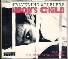 TRAVELING WILBURYS - nobody's child  3 trk MAXI CD  1990