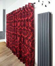 Rideaux et cantonnières rouge contemporains pour la maison