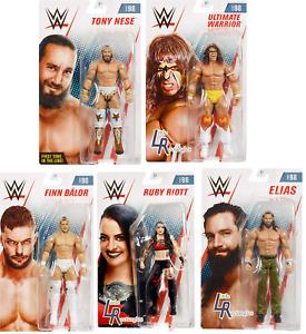 WWE Figures - Basic Series 98 - Mattel - Brand New - Sealed