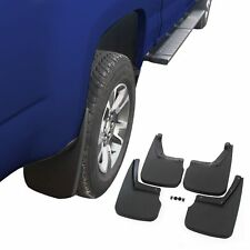 Chevy Colorado Mud Flaps 2015-2018 Guards Splash w/o Flares 4 Piece Front & Rear