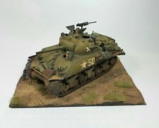 M4A3 Sherman Tank 1/35 Military Model BUILT AND PAINTED