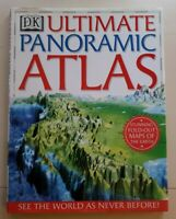 DK Ultimate Panoramic ATLAS: Stunning Fold Out Maps of the Earth (Great Gift)