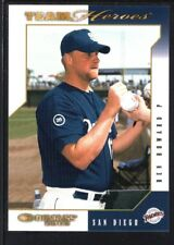 BEN HOWARD 2003 DONRUSS TEAM HEROES NATIONAL EMBOSSED PADRES SP #4/5