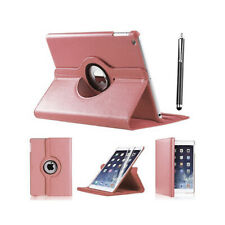APPLE iPad Mini 2 Pu Leather 360 Degree Rotating Smart Stand Case Cover - PINK