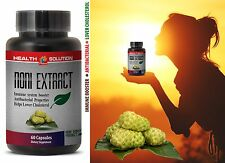 Organic Noni - NONI EXTRACT 500mg - Memory Support 1 Bottle 60 Capsules