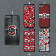 Ohio State Buckeyes Phone Case For iPhone 11 Pro X Max 8+ 7 6 Plus Black Cover