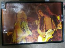 "1979 Van Halen Poster 24x37"" Import Scotland Vintage Rare!"