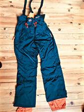 joli pantalon salopette de ski bleu petrole homme NAPAPIJRI taille XXL ETAT NEUF