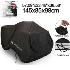 2Size M 57'' 190T Waterproof ATV Quad Bike Cover Outdoor Sun Dust Rain Protector