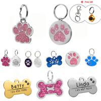 HUNDEMARKEN Tiermarke Hundemarke Katzenmarke mit GRAVUR Edelstahl Personalisiert