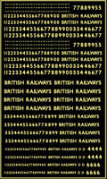 Modelmaster MMG201 4mm Scale B.R. Locomotive Numbering Suit all makes of models