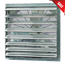 30'' Industrial Exhaust Shutter Fan Single Speed Wall Mount Garage Shop Barn New