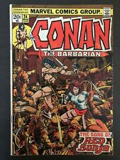 Conan The Barbarian #24 first printing 1973 Marvel Comic Book 1st Red Sonja
