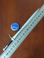 "1:6 Scale Figure Accessory Metal knight sword Model For 12"" Male&Female Body"