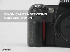 NIKON F80 / F50 / F100 Camera Servicing – Sticky Rubber – Repair Service