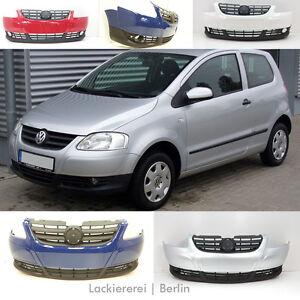 VW Fox 2005-2011 STOßSTANGE Stoßfänger VORNE LACKIERT IN IHRER WUNSCHFARBE,NEU