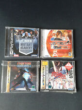 LOT DE 4 JEUX SEGA SATURN Jap- COMME NEUF- SEGA SATURN 4 GAMES BUNDLE - LIKE NEW