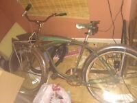 Classic 1959 Schwinn Mark IV Jaguar bicycle. Quite a beauty
