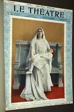 la Revue LE THEATRE cinquieme année premier semestre 1902 GOUPIL Editeur