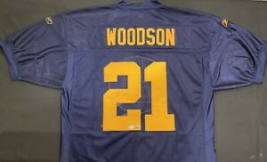 Charles Woodson Throwback Green Bay Packers SB XLV Signed Auto Jersey ~ PSA/DNA
