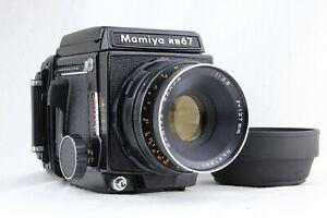 【 NEAR MINT 】 MAMIYA RB67 Pro Medium Format + SEKOR 127mm f/3.8 + 120 Film Back