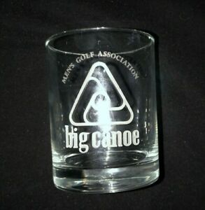 12 oz BIG CANOE Highball Glass Men's Golf Association