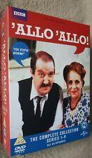 ALLO ALLO the complete collection Series 1-9 UK REGION 2 DVD Box Set *NEW SEALED