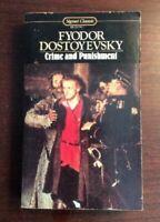 Crime and Punishment Mass Market Paperbound Fyodor Dostoyevsky