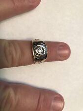Vtg Shriner's Ring 14K With Diamonds Size 9 & 7/8? 8.9 Grams-Scrap Price??
