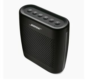 Bose Soundlink Bluetooth Portable Colour Speaker Black With Charger