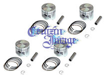 81-82 HONDA CB900F 1.0mm OVERSIZE PISTONS SET 65.50mm 4 PISTONS  10-H438PS-2