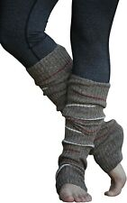 Leg Warmers for Women Striped, Multicolor & Reversible Legwarmers by Lucky Love